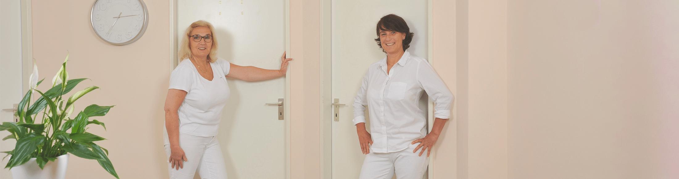 Antje Bolli-Trostdorf und Dr. Andrea Heinenberg